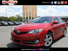 2014 TOYOTA CAMRY SE LE XLE  Auto City 704-753-7037 www.autocity.com  We work with people with No credit, Bad credit or a recent Repossession don't worry we have you covered!! We have a variety of Programs for people with Credit Challenges!  #autocitync #autocity #charlottenc #usedcars #autocitycharlotte #buyherepayhere #easycarfinancing #charlotteusedcar