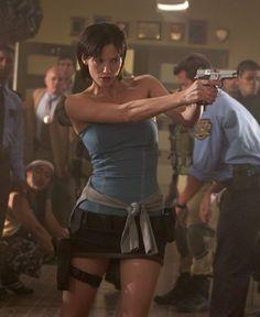 jill valentine sienna guillory | Jill Valentine(Sienna Guillory) , membro dos S.T.A.R.S, e uma das ...