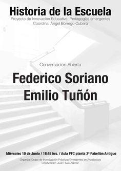 Conversación abierta Federico Soriano - Emilio Tuñón. ETSAM 10 de junio, 18:45