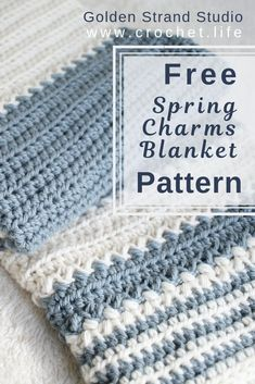 Easy Baby Blanket – Free Crochet Pattern by GoldenStrandStudi… / crochet.life Easy Baby Blanket – Free Crochet Pattern by GoldenStrandStudi… / crochet. Crochet Baby Blanket Free Pattern, Crochet For Beginners Blanket, Baby Afghan Crochet, Manta Crochet, Crochet Bebe, Crochet For Boys, Afghan Crochet Patterns, Free Crochet, Crochet Blankets