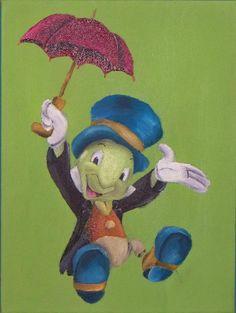 Jiminy Cricket by Billy Wallwork [©2013]