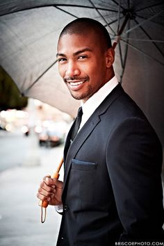 Charles Michael Davis - plays Marcel the leader of vampires in New Orleans on my current favorite show for 2013-14, The Originals.