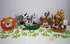 ♥♥♥ A selva Sweetfelt continua a invadir o atelier... agora com um bichinho novo, gostam? by sweetfelt \ ideias em feltro