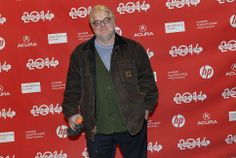 "Philip Seymour Hoffman arrives at the Sundance red carpet for ""A Most Wanted Man"" on Jan. A Most Wanted Man, Philip Seymour Hoffman, Sundance Film Festival, Red Carpet, Photo Galleries, Salt, Bomber Jacket, Bomber Jackets"