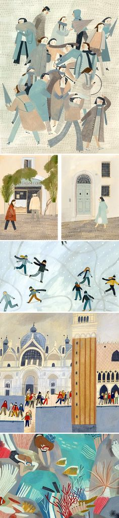 Illustrations by Beatrice Cerocchi / on the Blog!