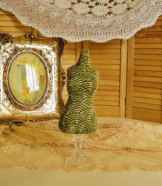 Japan waves Cotton  Dress Form Mannequin pincushion / by lin168