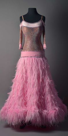 e068d6f508fd Dance Accessories, Pink Feathers, Ballroom Dress, Square Dance, Dance  Dresses, Dance