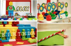 Lego Themed 5th Birthday Party - Kara's Party Ideas - The Place for All Things Party