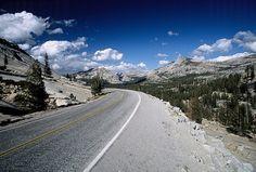 Tioga Pass into Tuolumne Meadows, Yosemite National Park, California