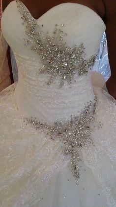 celebrity wedding dress Wedding dress Source by da festa Crystal Wedding Dresses, Top Wedding Dresses, Gorgeous Wedding Dress, Princess Wedding Dresses, Bridal Dresses, Flower Girl Dresses, Celebrity Wedding Gowns, Weddings, Prom