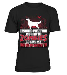 Irish Red and White Setter Dog Zombies Cute Funny T-shirt Gift  => Check out this shirt or mug by clicking the image, have fun :) Please tag, repin & share with your friends who would love it. #Irish #hoodie #ideas #image #photo #shirt #tshirt #sweatshirt #tee #gift #perfectgift