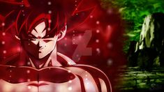 Evil Goku Ultra Instinto by NarihiCharm on DeviantArt Dragon Ball Z, Dragon Bowl, Evil Goku, Red Lightning, Dark Anime Guys, Killua, Cartoon Pics, Fan Art, Deviantart