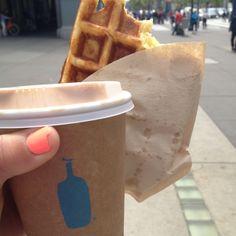 Blue Bottle Coffee Co. Waffle and Mocha #SF