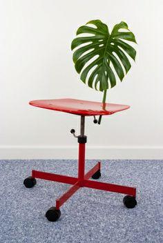 leaf back chair