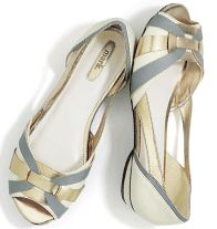 """mark Skimming Along Flats. Nicely Neutral + Unbelievably Versatile When strappy sandals are just too bare, allow these peep-toes to step in! Faux leather. 3/4"""" heel. Half sizes order down.http://www.youravon.com/zweinberg"""
