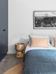 denim blue | serene blue bedroom |