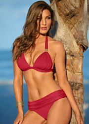 95d6a8eca2f0f Bright White Goddess Enhancer Push Up from VENUS Red Swimsuit, Push Up  Swimsuit, Swimsuit
