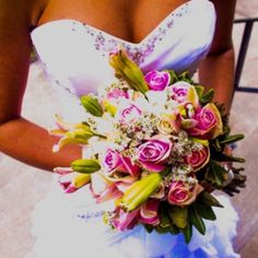Light pink wedding