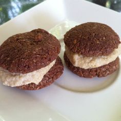 Raw Vegan Chocolate + Coconut Macarons