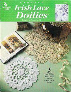 Irish Crochet Doilies