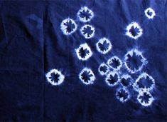 Shibori for Beginners: How to Dye Fabric with Indigo — Tuts #indigo, #shibori, #tie dye