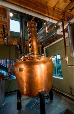 The 35-minute ferry ride from Seattle to Bainbridge Island makes the trip to this distillery feel like a mini-getaway.