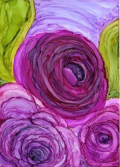 Maria Pazos, Artist #watercolorarts