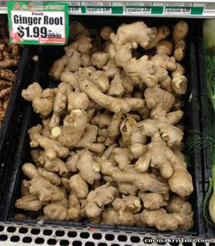 How many times have you thrown out your ginger root? You find the ...