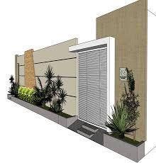 tipo de muro fachada residencial - Pesquisa Google