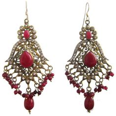 These earrings are great for summer too!