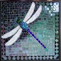 dragonfly,dragonflies,garden,mosaic,stained glass,insects,