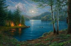 Summer Night- Abraham Hunter