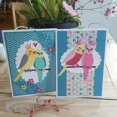 Best Garden Decorations Tips and Tricks You Need to Know - Modern Marianne Design Cards, Used Cloth Diapers, Kids Growing Up, Parrot Bird, Bird Cards, Animal Cards, Budgies, Card Tags, Creative Cards