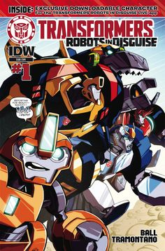 Transformers: Robots In Disguise Animated (2015) Issue #1