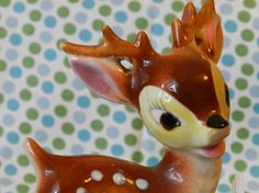 Vintage sweet deer bookend AS IS by happyriley on Etsy