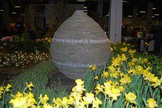 2012 Boston Flower Show, Philip O'Donnell's exhibit, NE Land Artisan