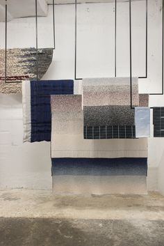 In her solo presentation Textile Hues, during the Salone del Mobile, last april…