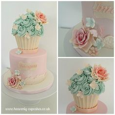 THis will be my daughters First birthday cake, she's lucky her momma's a baker lol
