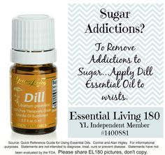 Young Living Essential Oils: Dill for Sugar Addiction