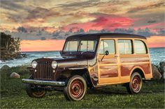 """Willys-Overland """"Jeep"""" Station Wagon: 1946-1965"""