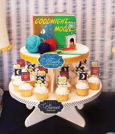 Goodnight Moon Baby Shower // Hostess with the Mostess®