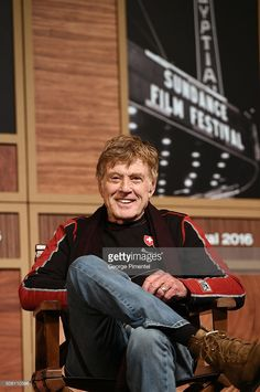 Sundance Institute President Robert Redford attends the 2016 Sundance Film Festival Day One Press Conference at Egyptian Theatre on January 21, 2016 in Park City, Utah.
