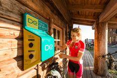 bike-energy Ladestationen www. E Biker, Landline Phone, Filling Station
