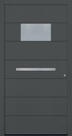 Modern Entry Doors - Modern Entry Door Modern Entry Door, Modern Exterior Doors, Entry Doors, Entrance, Iron Windows, Iron Doors, Modern Windows And Doors, Modern Driveway, Door Design