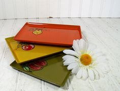 Groovy Bistro Lacquer Trays Collection  Matching by DivineOrders, $16.00