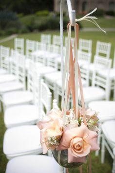 Elegant Pink Ballroom Wedding  Wedding Real Weddings Photos on WeddingWire