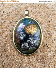 Phoenix feather orgonite spiritual protection pendant holiday sale little mermaid orgonite pendant part 2 orgone necklace seashell necklace ocean mozeypictures Images