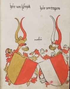 Wappenbuch des St. Galler Abtes Ulrich Rösch Heidelberg · 15. Jahrhundert Cod. Sang. 1084  Folio 194