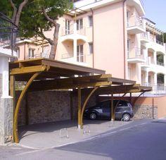 Carport struttura posti auto