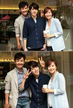 [PIC] 140821 KBS2 High School Love On - #인피니트 Sungyeol with his parent ~ pic.twitter.com/9o1VQKi0qt